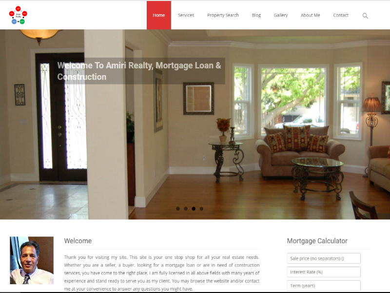 Amiri Realty ONE STOP SHOP for Real Estate, Mortgage Loan & Construction